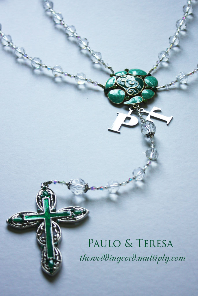 Rosary Wedding Cord